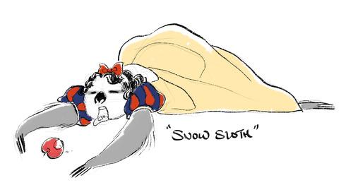 Snow Sloth