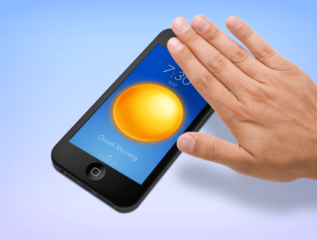 Wake An Alarm App For Ios That Asks Users To Slap Shake