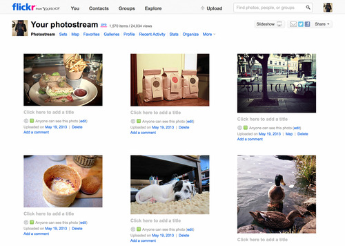 Flickr Redesign