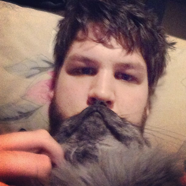 Cat Beard by bestill_foramoment