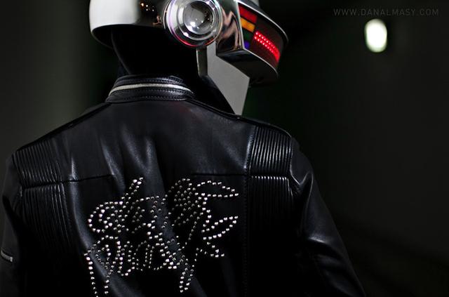 Daft Punk photo by Dan Almasy