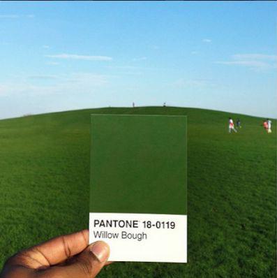thepantoneproject by Paul Octavious