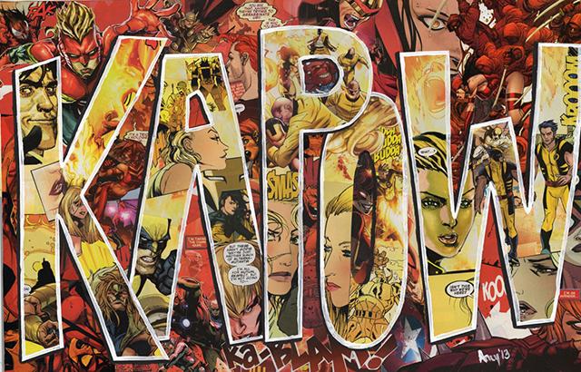 Custom Comics Collage