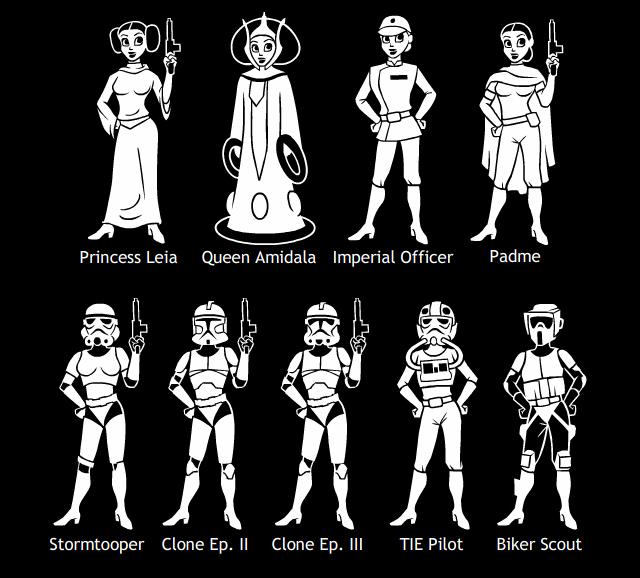 Star Wars Moms