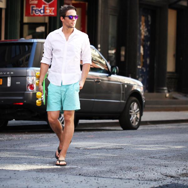 Summer Oxford shirt by VoyVoy Clothing