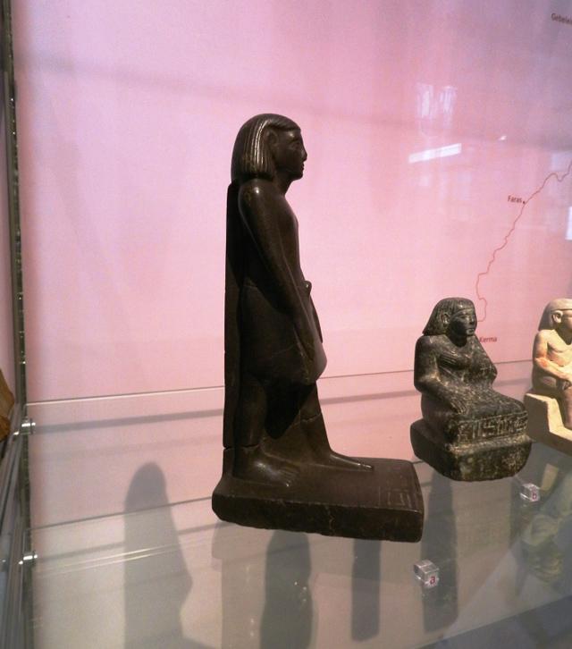Mummy Found Inside Statue - Magazine cover