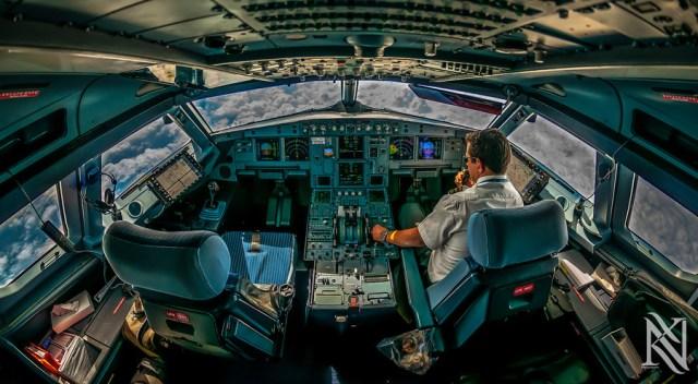 Cockpit HDR photos by Karim Nafatni