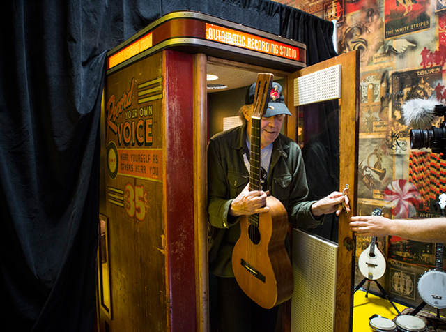 Third Man Record Booth Neil Young