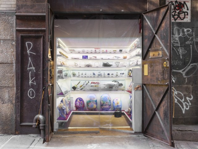 Tiny museum in Manhattan alley