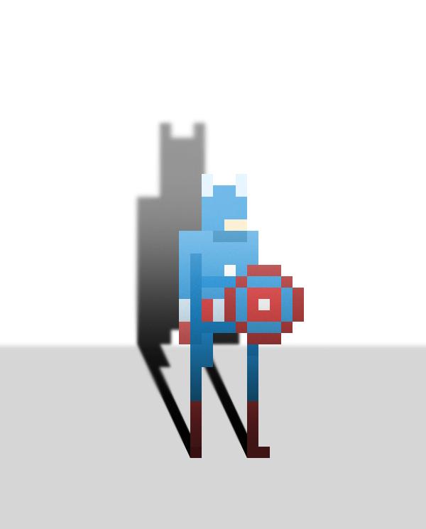 Pixel Superheroes