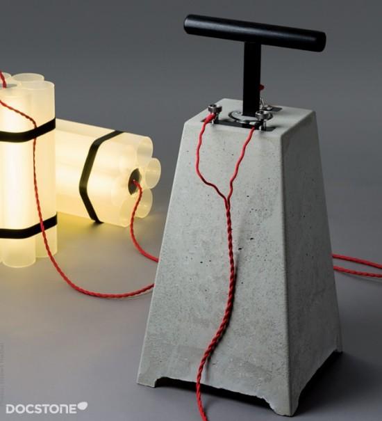 Dynamite lights by Docstone