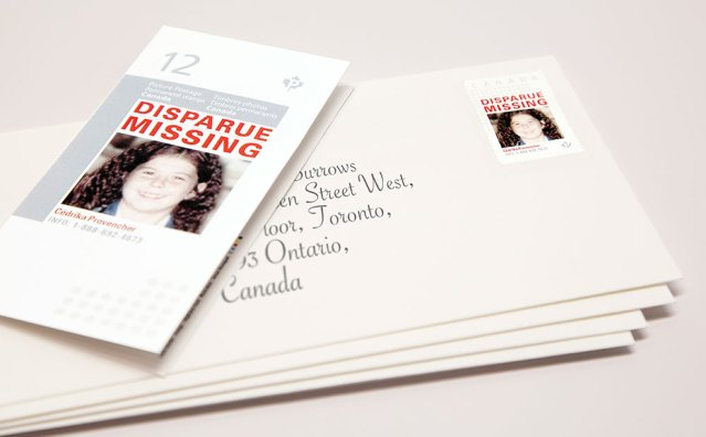 Missing Kid Stamps