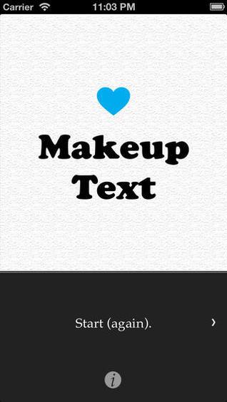 MakeupText