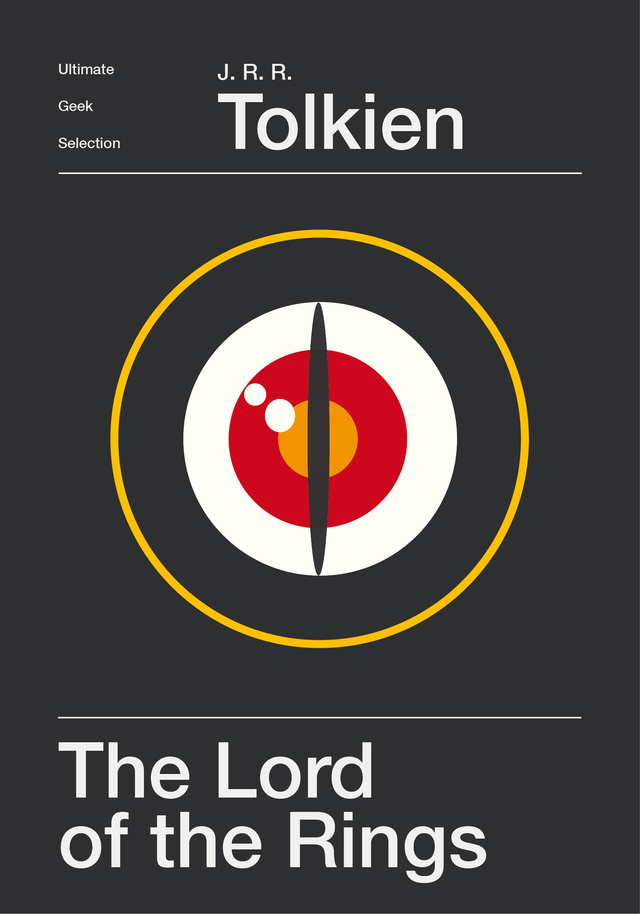 Minimalist Book Cover Version : Minimalist science fiction and fantasy book covers