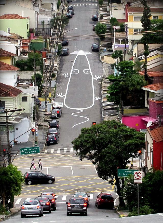 Street art by Tec