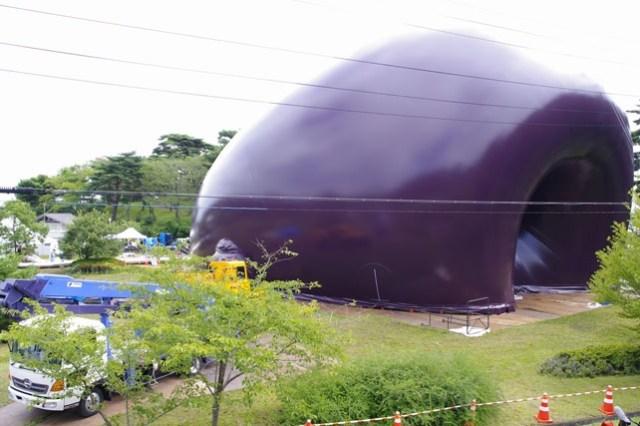 Ark Nova inflatable concert hall