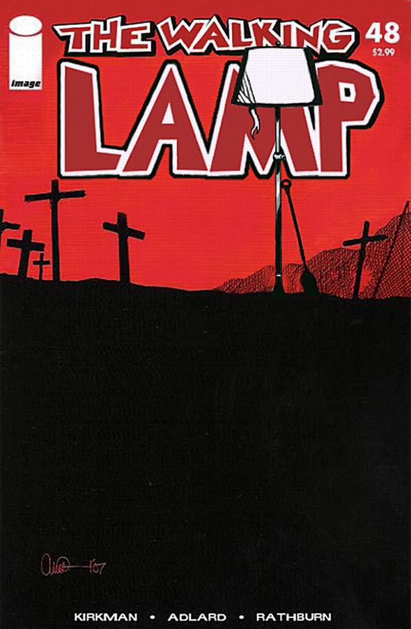 The Walking Dead Lamp