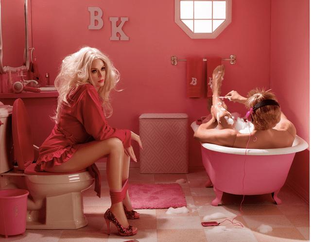 In The Dollhouse - Dina Goldstein (Bath)