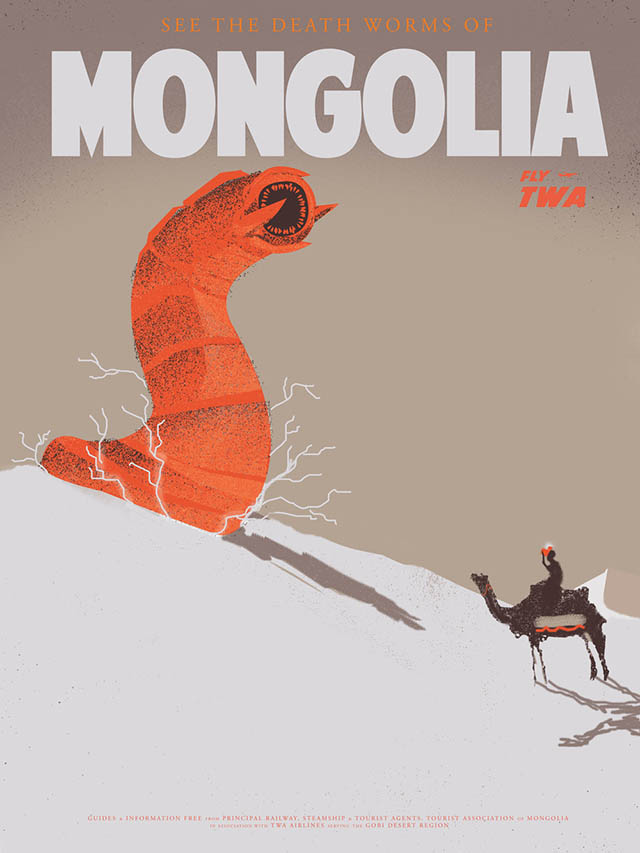 The Death Worms of Mongolia