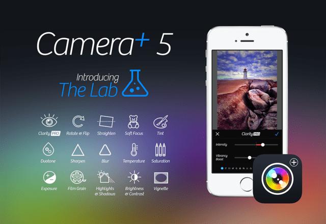 Camera+ 5.0