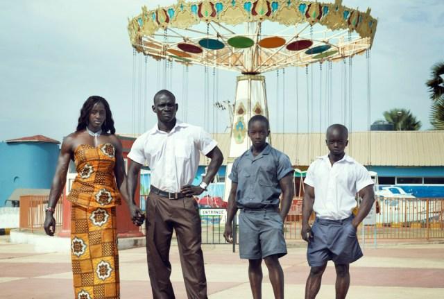 Bodybuilders World Gambian Family