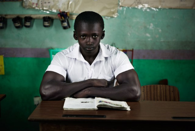 Gambian School Boy