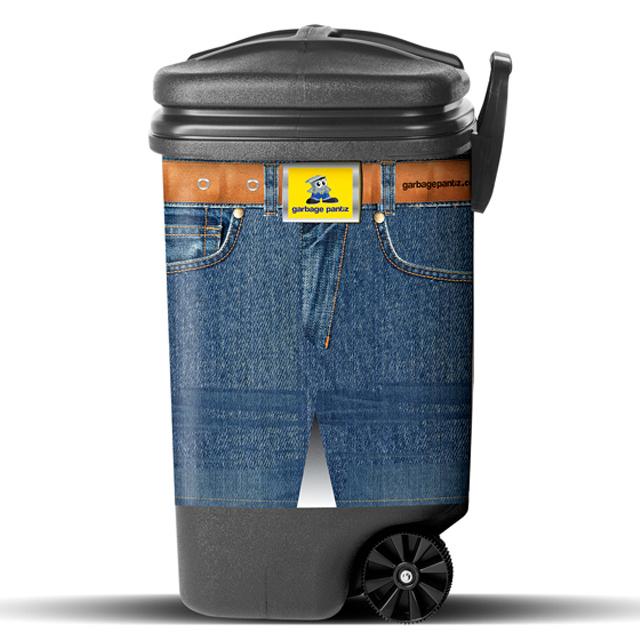 Blue Jeans Garbage Pantz