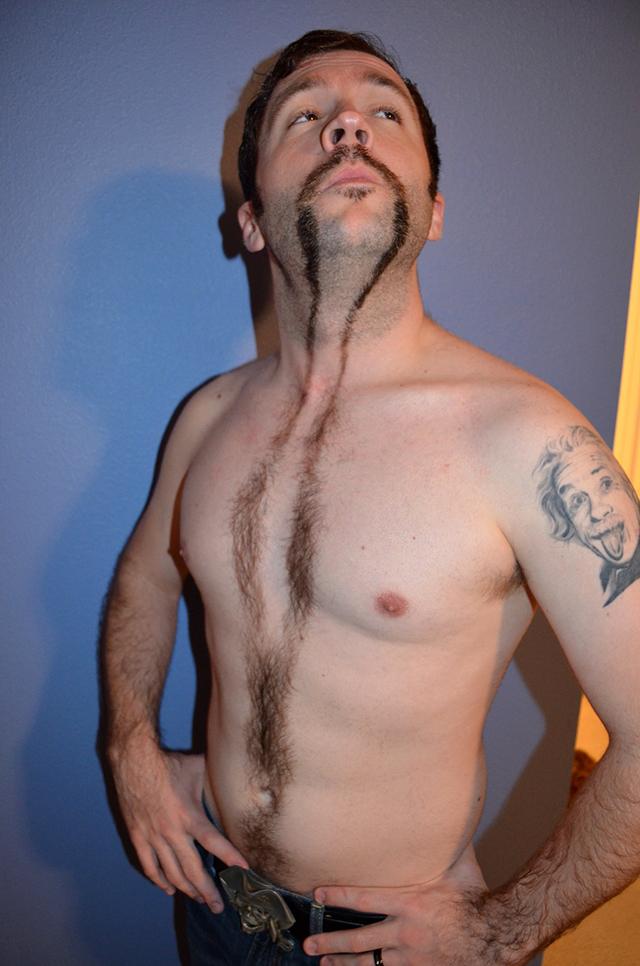 Jonathan Burnside Movember Mustache 2012