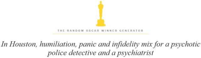 The Random Oscar Winner Generator