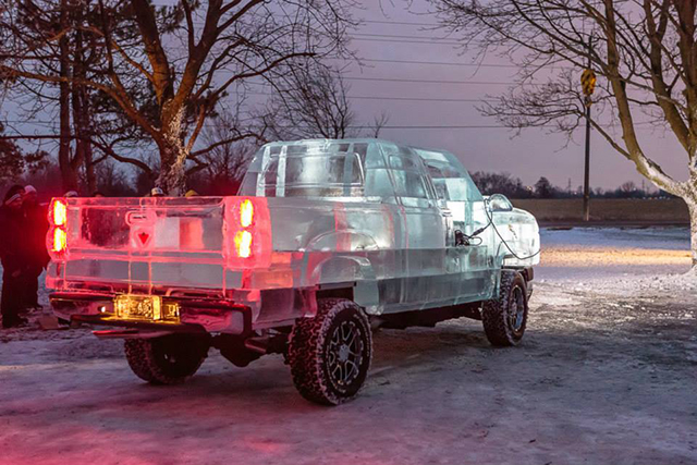 Canadian Ice Truck