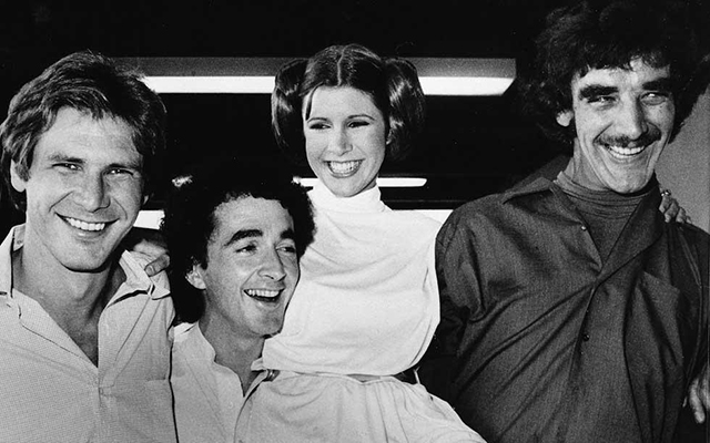 Harrison, Anthony, Carrie and I sharing a laugh