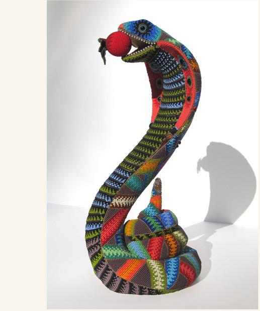 Beaded Snake