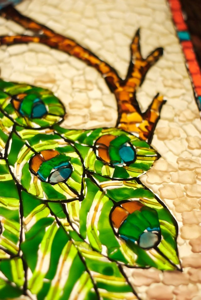 Gummy Stained Glass Detail