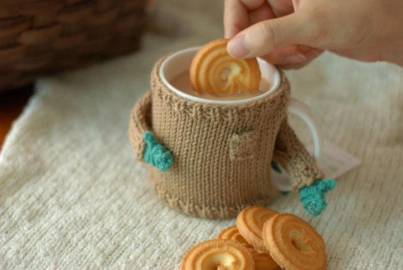 Mug Sweater - Camel