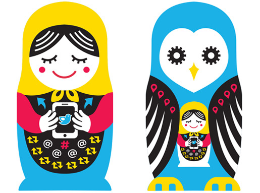 Nesting Twitter Outermost Doll