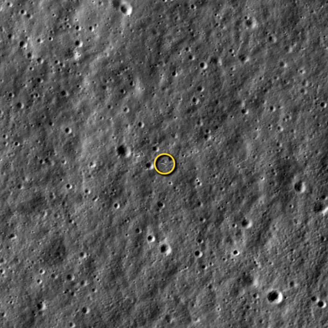 LROC Image of LADEE