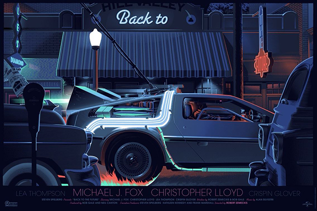 Back to the Future by Laurent Durieux