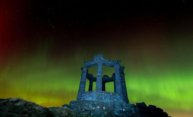 Aurora - Stonehaven War Memorial Stoneysnapper