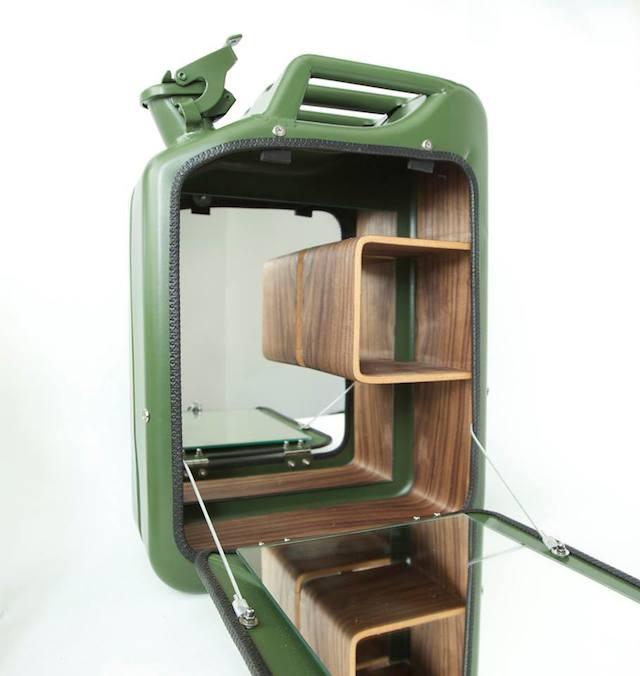 Danish Fuel Army Green Bar