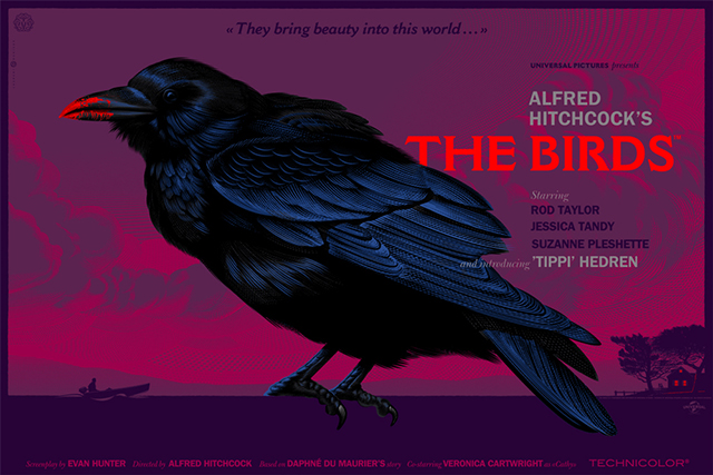 The Birds by Laurent Durieux