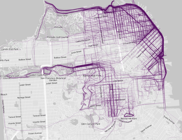 City Maps Visualize Where People Run