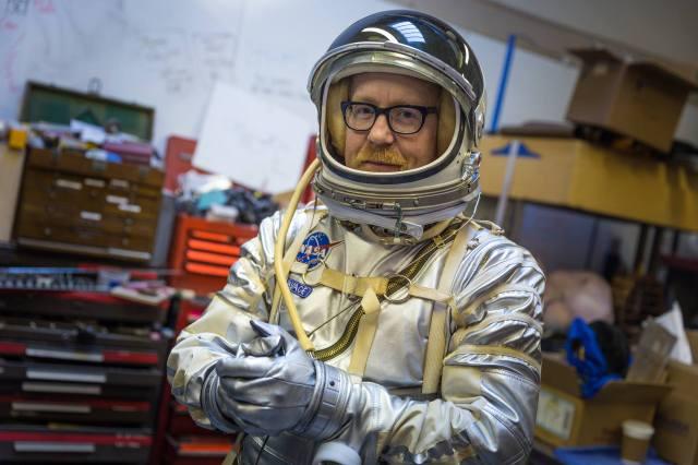 Adam Savage Mercury Spacesuit