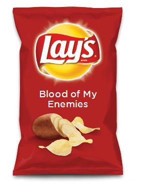 Blood of My Enemies Chips