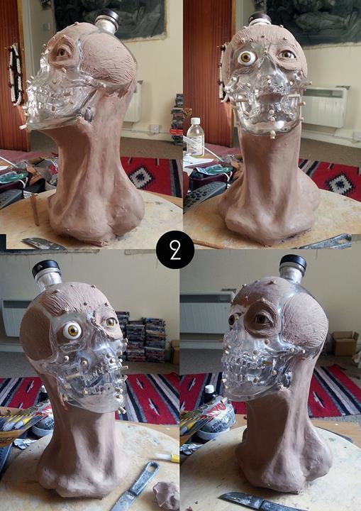 Crystal Head Vodka Facial Reconstruction 2