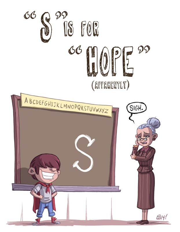 S Is For Hope by Otis Frampton