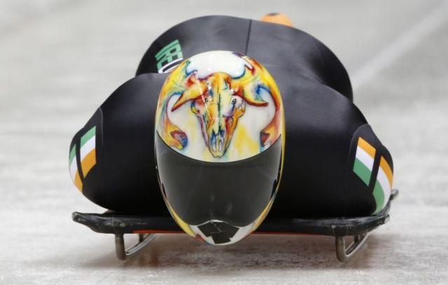 Winter Olympics Skeleton Helmet