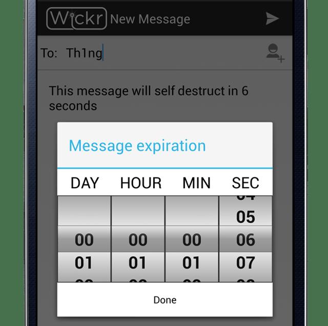 Wickr App Compose