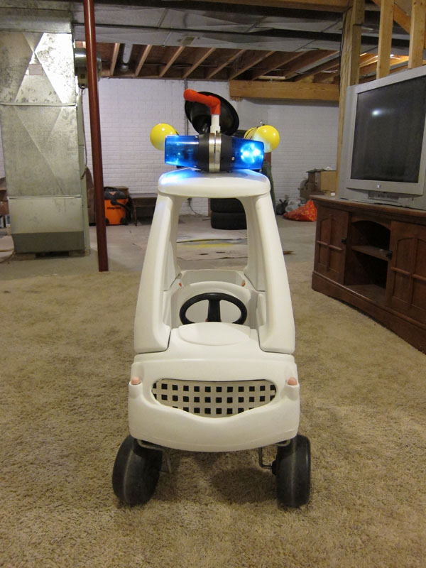 Ghostbusters Ecto-1 Cozy Coupe