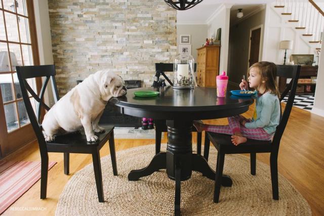 Harper and Lola (Breakfast Edition)
