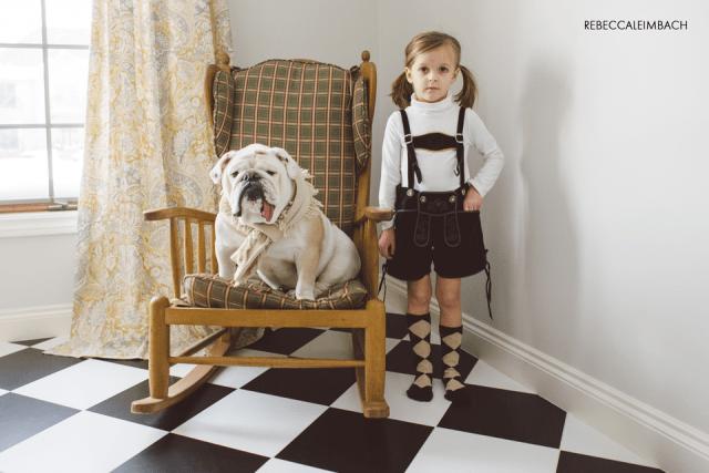 Harper and Lola (Lederhosen Edition)